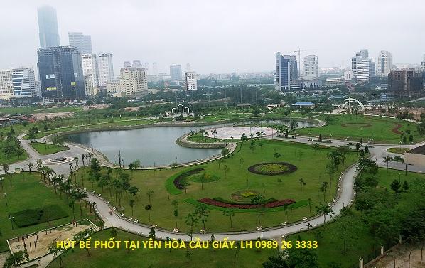 Hút bể phốt tại phường Yên Hòa