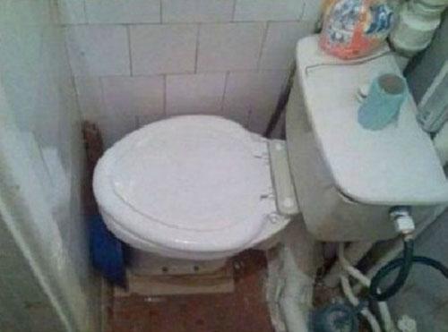 Những kiểu toilet khó đỡ khiến bạn dở khóc … dở cười