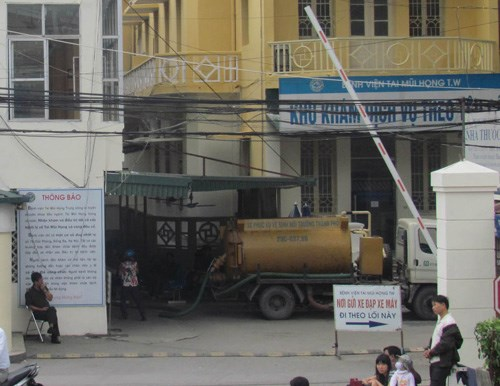 Hút bể phốt tại Ba Đình hiệu quả 100%