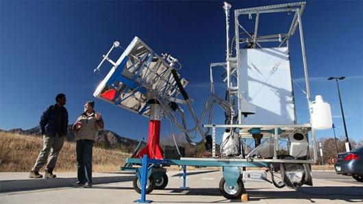 Mỹ phát minh nhà vệ sinh năng lượng mặt trời