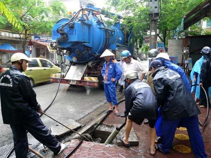 Hút bể phốt tại Quang Trung tiện lợi, nhanh chóng, đảm bảo chất lượng