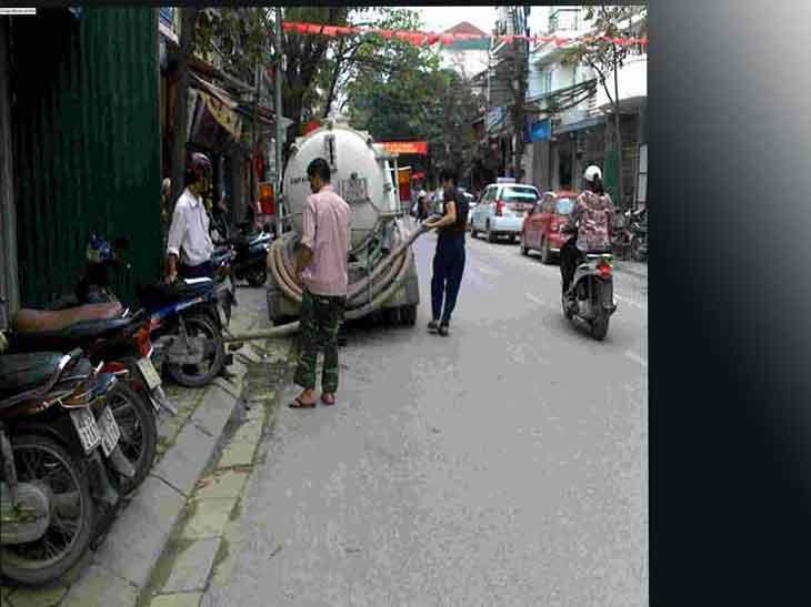 hút bể phốt tại Yên Viên