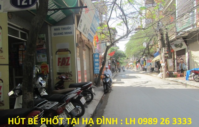 Hút bể phốt tại Hạ Đình Thanh Xuân
