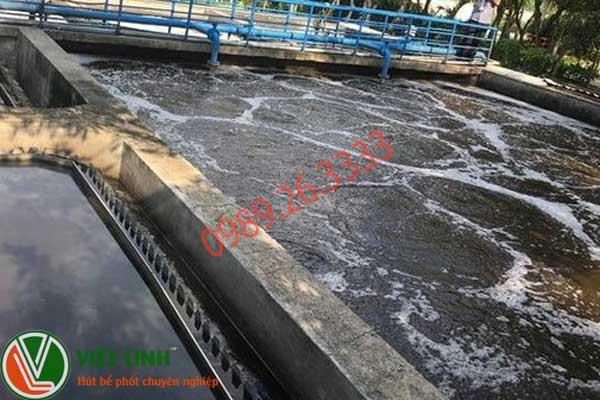 Hút bùn vi sinh tại Thái Bình