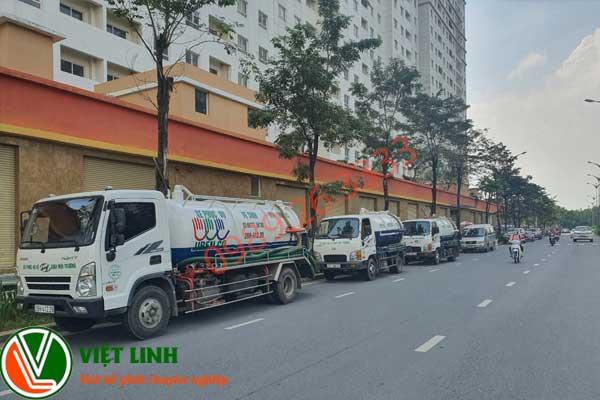 Hút bể phốt tại Châu Giang