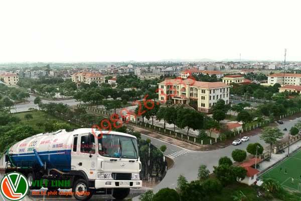 Hút bể phốt tại Thuận Thành