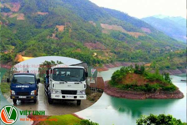 Hút bể phốt tại Lục Nam