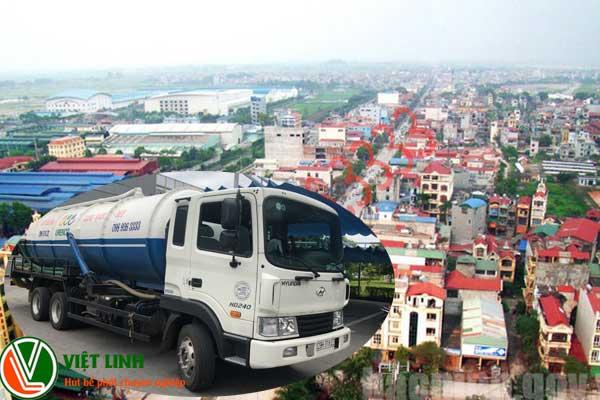 Hút bể phốt tại Tiên Du