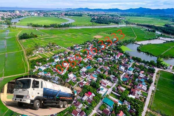Hút hầm cầu tại Nghệ An