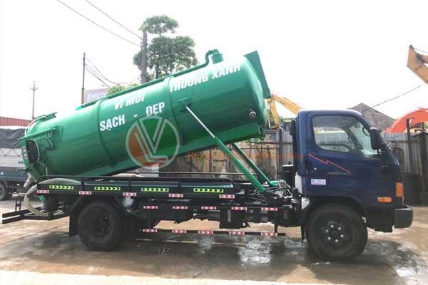 Thông tắc Cống, hút bể phốt tại Yên Sở