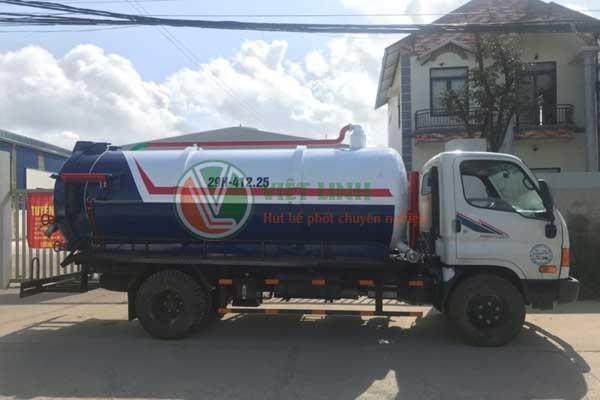 Thông tắc cống, hút bể phốt tại Phú Đô