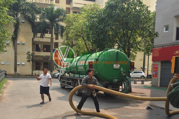 Thông tắc Cống, hút bể phốt tại Thanh Xuân Nam