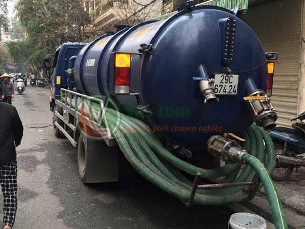 thông tắc cống, hút bể phốt tại Thổ Quan