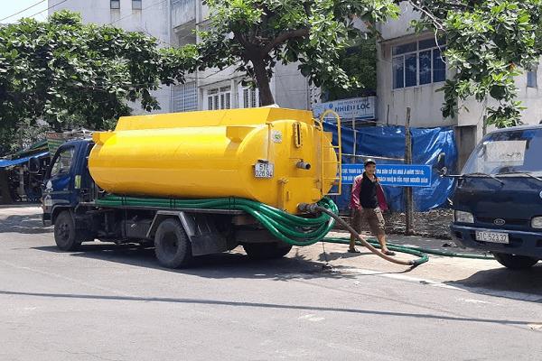 Thông tắc cống, hút bể phốt tại Trung Liệt