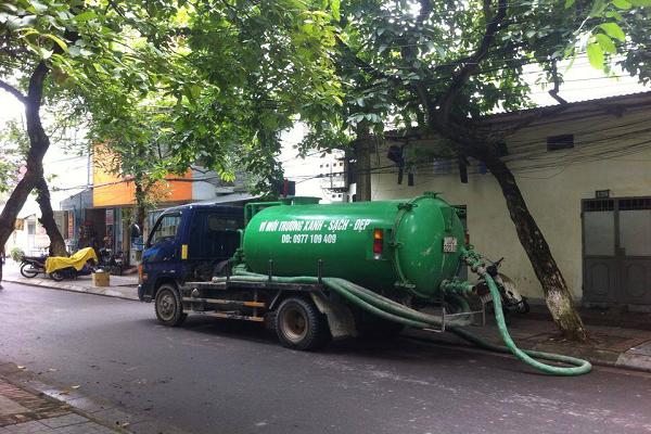 Thông tắc Cống, hút bể phốt tại Đồng Xuân