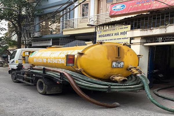 Thông tắc Cống, hút bể phốt tại Hàng Bồ