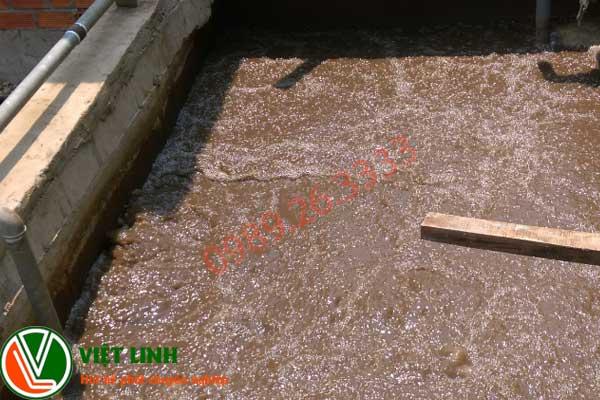 bể chứa bùn tại thái nguyên