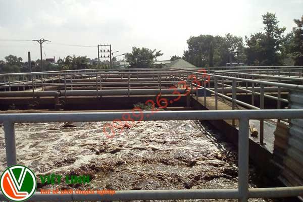 bể chứa bùn vi sinh tại khu vực Thanh Hóa