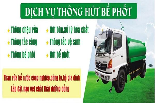 Các dịch vụ vệ sinh môi trường mà Việt Linh đang cung cấp