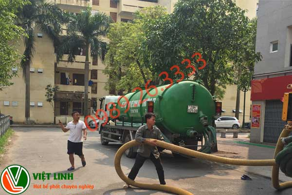 Dịch vụ hút bể phốt tại Thường Tín
