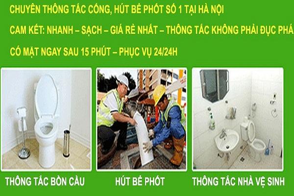 Các dịch vụ vệ sinh môi trường tại hàng đào