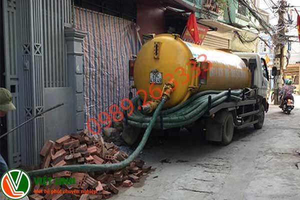 dịch vụ hút bể phốt tại Thuận Thành Uy tín