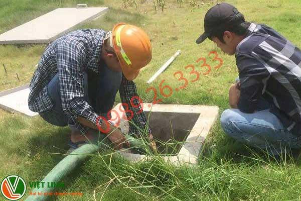 Nhân viên đa sử lý rút hầm hầm cầu tại Long An
