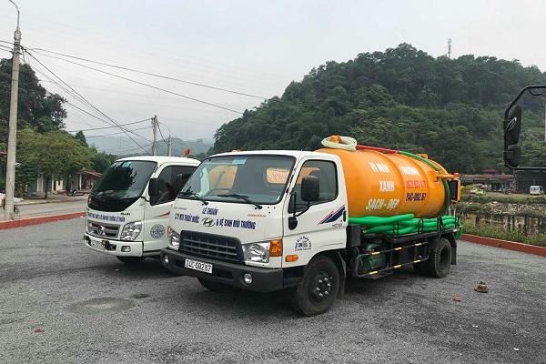Việt Linh sở hữu nhiều xe hút bể phốt chuyên dụng