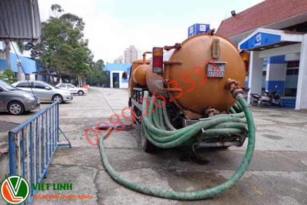 Dịch vụ hút bể phôt tại Yên Thế của Việt Linh