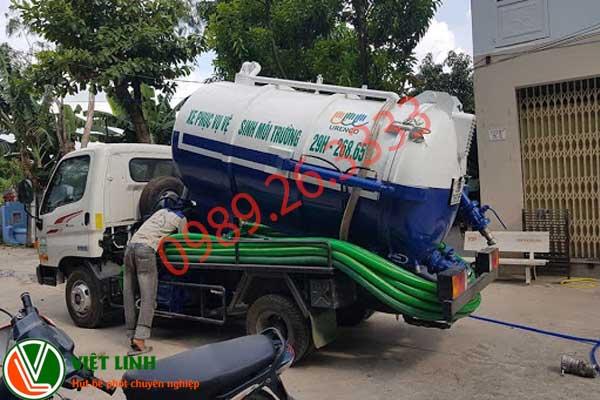Hút bể phốt tại Châu Giang giá rẻ