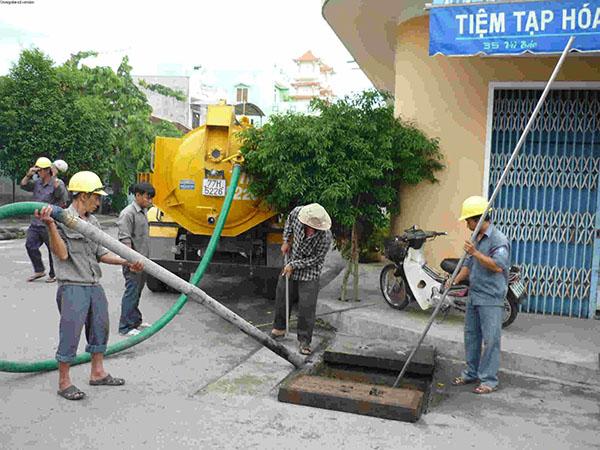 Hút bể phốt tại Thanh Xuân giá rẻ