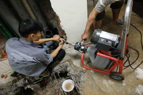 Thông tắc cống chuyên nghiệp tại Phú Xuyên