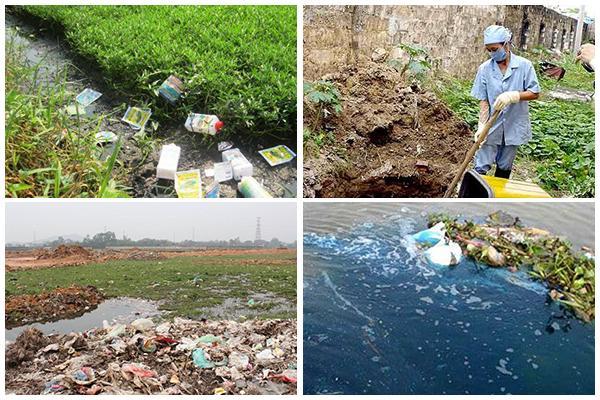 nguyên nhân gây ô nhiểm môi trường nước