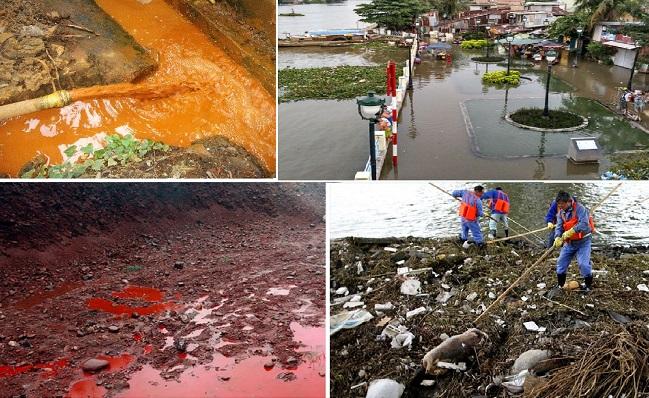 nguyên nhân gây ô nhiễm môi trường đất