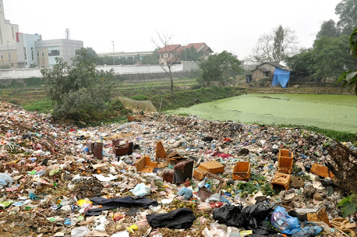 ô nhiễm môi trường đất