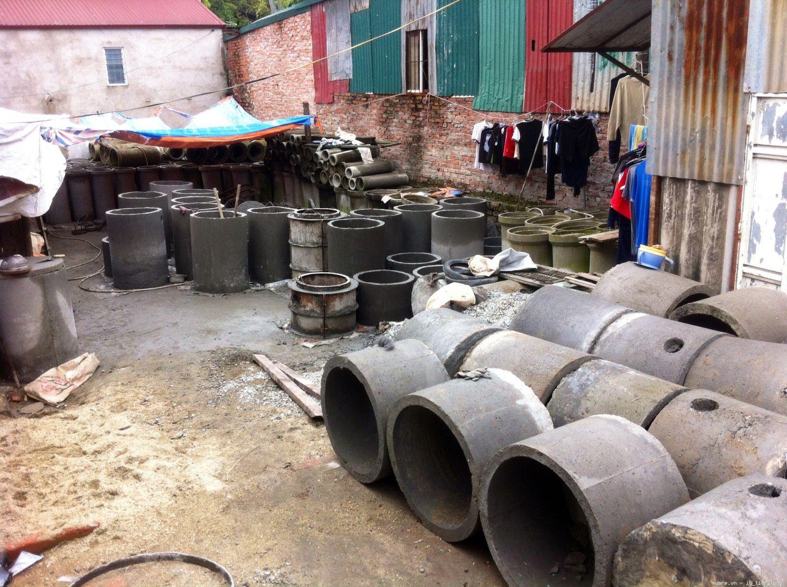 ống bi bê tông bể phốt