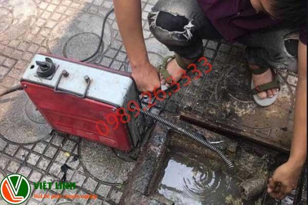 Quy trình thông tắc cống tại thanh trì của Việt Linh