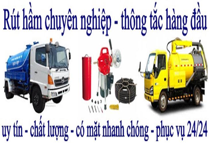 dịch vụ rút hầm cầu tại Phú Nhuận
