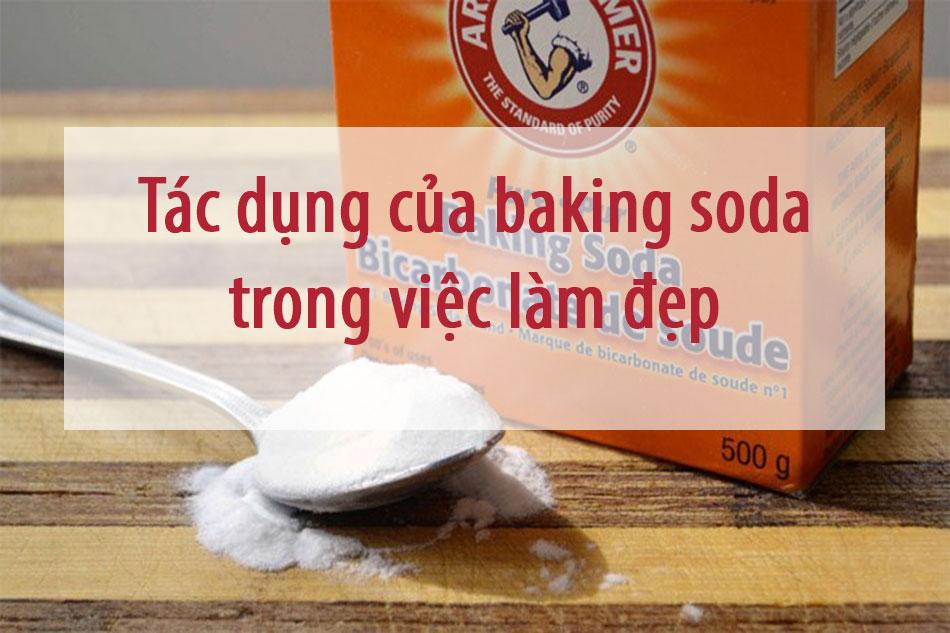 Baking Soda trong lĩnh vực làm đẹp