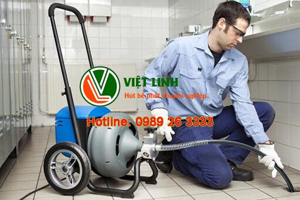 dịch vụ thông tắc vệ sinh tại Gia Lâm