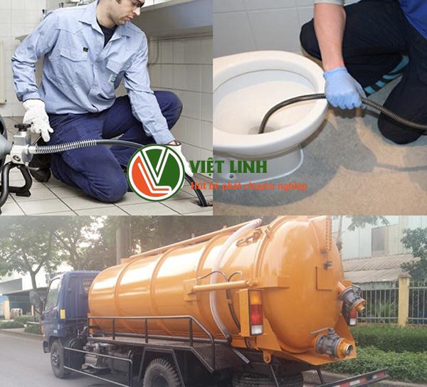 dịch vụ thông tắc vệ sinh giá rẻ tại Long Biên