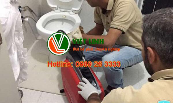 dịch vụ thông tắc vệ sinh tại Đông Anh