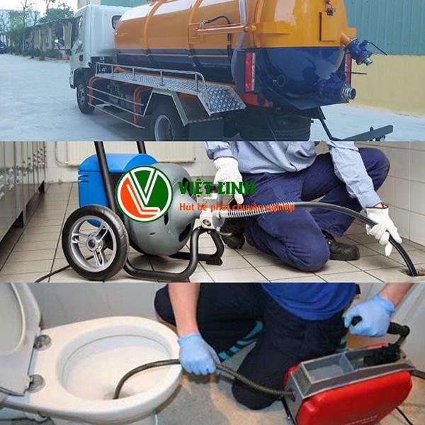 dịch vụ thông tắc vệ sinh tại Tây Hồ