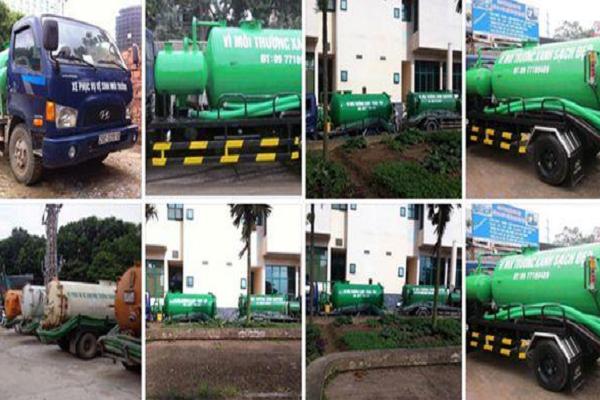 Việt Linh sở hữu hệ thống xe bể phốt hiên đại