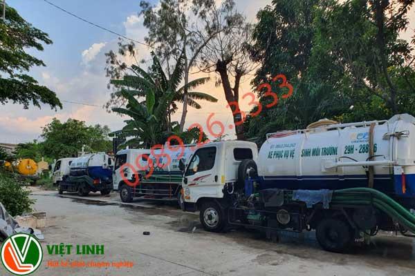 Xe hút bể phốt tại Thường Tín của Việt Linh