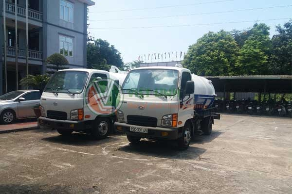 Việt Linh sở hữu nhiều xe hút bể phốt phân khối lớn