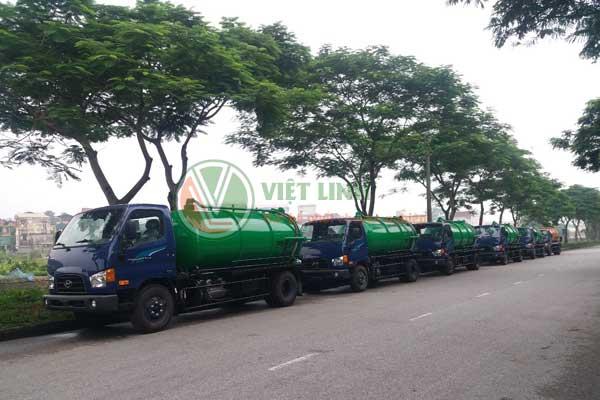 xe phục vụ hút tại Thuận Thành