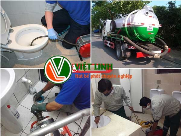 Thông tắc vệ sinh tại Hà Nội - Việt Linh